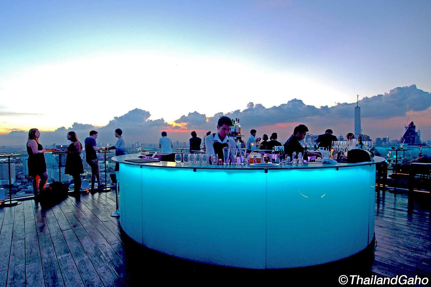 オクターブ ルーフトップバー (Octave Rooftop Bar) スクンビット通りのおすすめサンセットスポット