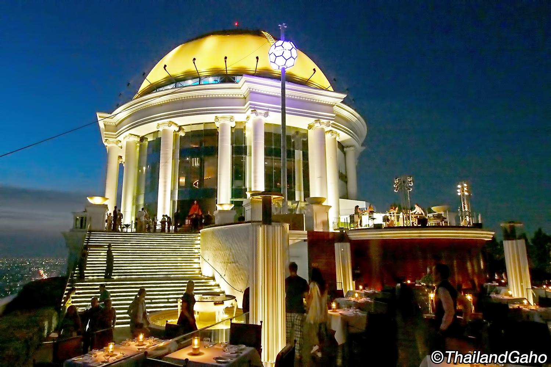 スカイバー バンコク (Sky Bar) ルブアホテルの超有名ルーフトップバー