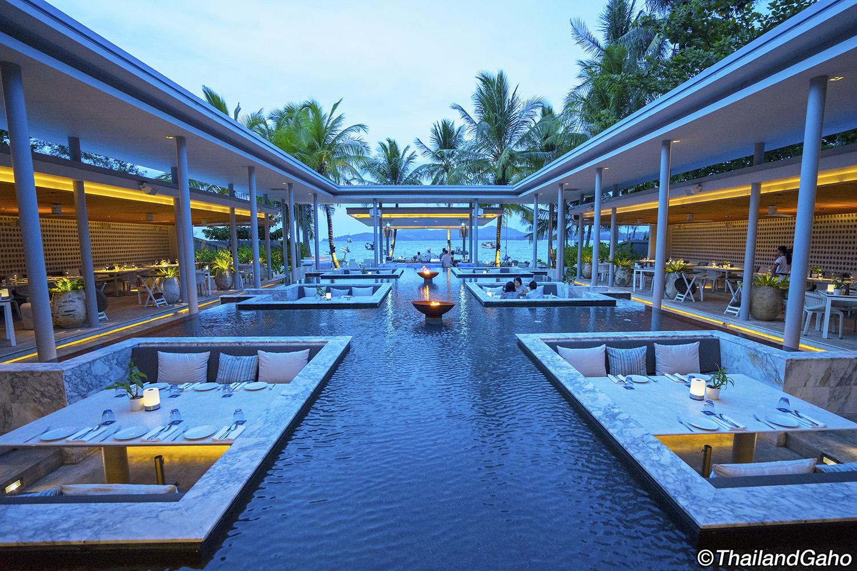 パーム シーサイド プーケット (Palm Seaside Phuket) 海辺のお洒落シーフードレストラン